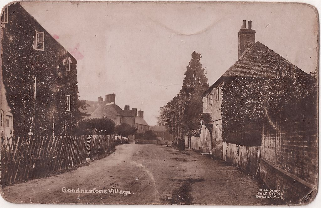 The Street with Church Cottage and the Fitzwalter Arms (then the Bridges Arms) on the left